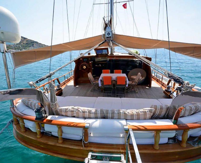 ARTEMIS & SIMAY Back deck