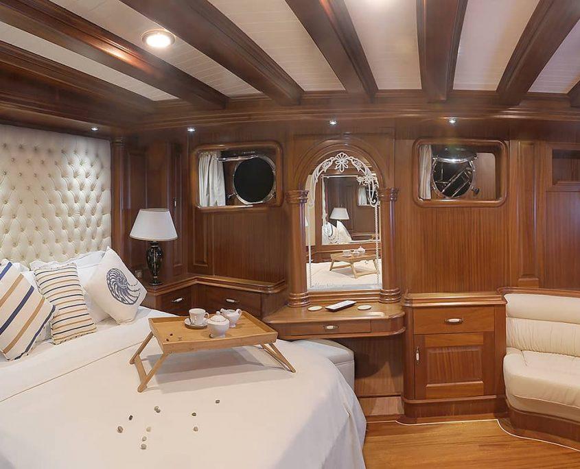 MARE NOSTRUM Master cabin