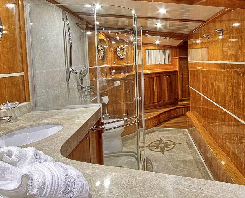 SILVER MOON Master Bathroom