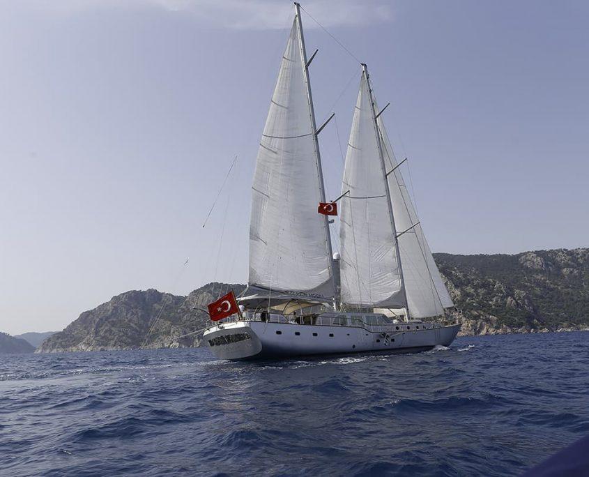SILVER MOON Sailing
