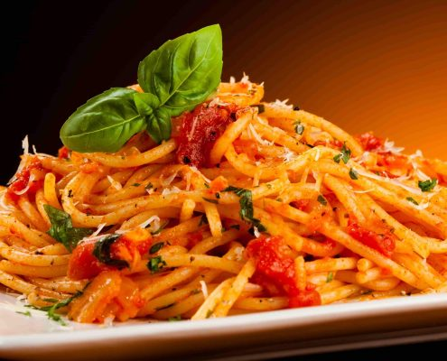 Pasta-with-tomato-sauce-and-parmesan-min