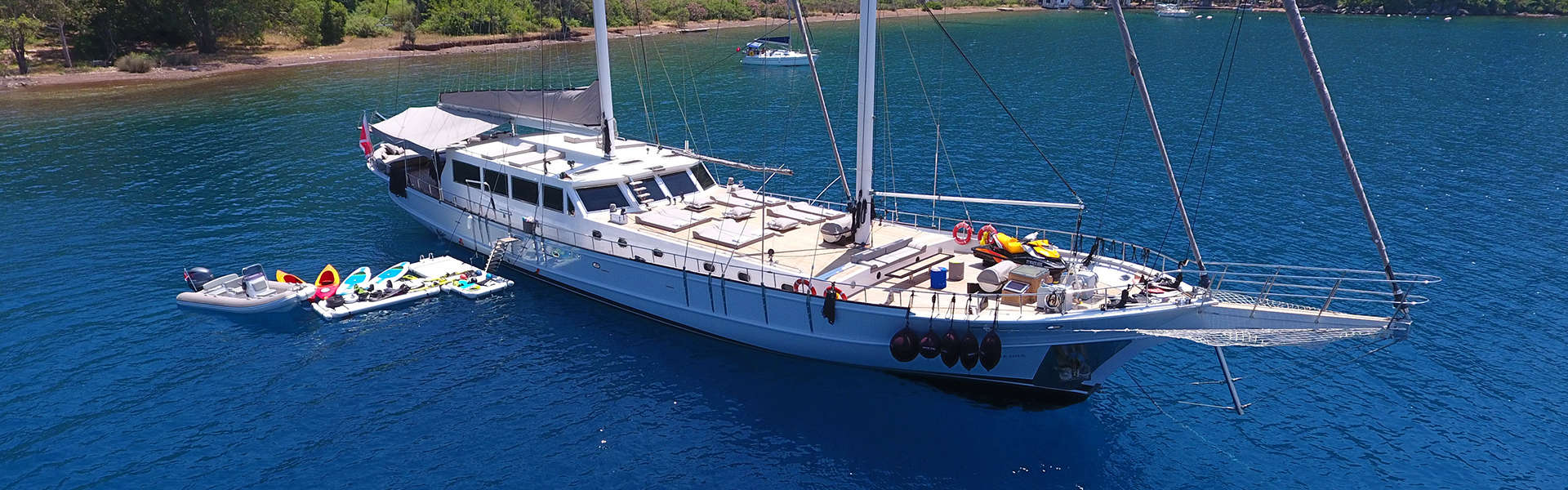 FAMILY GULET CRUISE IN TURKEY Header image