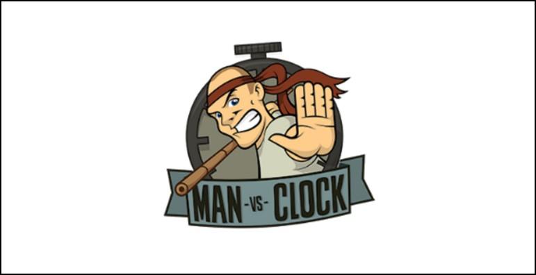 Man vs clock